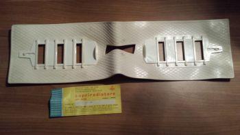 FIAT 131 DIESEL - MASCHERINA IN GOMMA COPRI RADIATORE