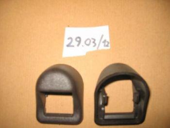 FIAT 131B - GHIERA MANIGLIA APRIPORTA IN PLASTICA MARRONE