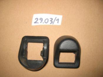 FIAT 131B - GHIERA MANIGLIA APRIPORTA IN PLASTICA NERO
