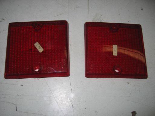 FIAT 132 - COPPIA DI PLASTICHE FANALINI POSTERIORI