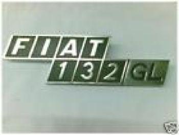 FIAT 132 GL - LOGO POSTERIORE
