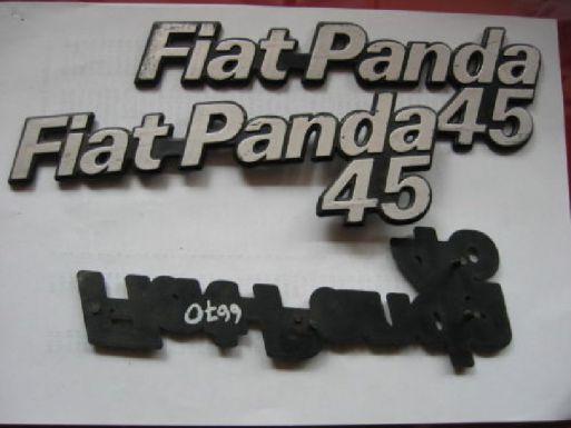 FIAT PANDA 45 - LOGO ANTERIORE