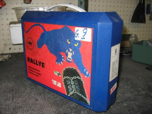 RALLY - CATENE DA NEVE GRUPPO 9 MODELLO 90