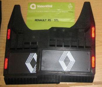 RENAULT R5 - COPPIA DI PARASPRUZZI POSTERIORI CON CATARINFRANGENTE