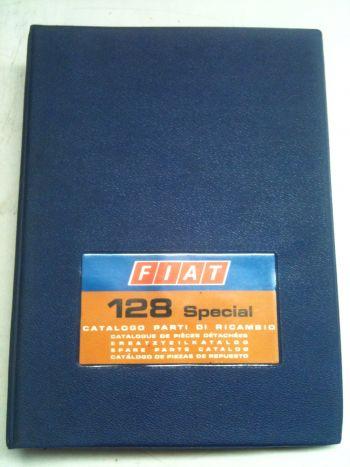 FIAT 128 SPECIAL - CATALOGO PARTI DI RICAMBIO