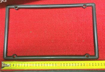 CORNICE TARGA POSTERIORE LUNGA IN PLASTICA RETTANGOLARE cm 34x20 circa  art. 37.10