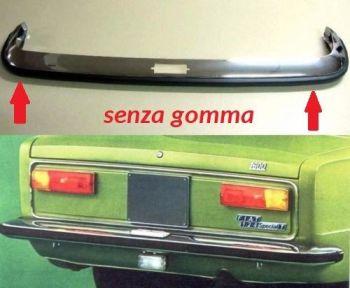 FIAT 124 SPECIAL T - PARAURTI POSTERIORE NUOVO SENZA GOMMA-MODANATURA