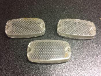Autobianchi Primula prima serie - Plastica Fanale anteriore bianco Stars 11.41.01