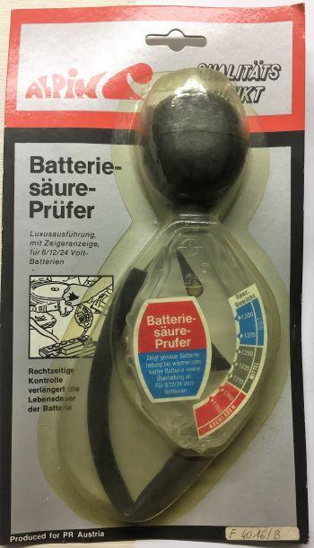 Tester Acido Batteria auto storiche nuovo