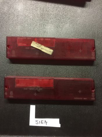 Fiat 131 '78 Mirafiori - Plastica Rossa Fanale Posteriore Destro Siem