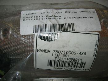 Fiat Panda 2s 750/1000s 4x4 - Plastica Bianca Fanale Anteriore Destro Siem