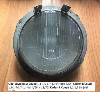 Opel Olympia Kadett B e L Coupe Faro Anteriore Bosch 0301605006 Usato