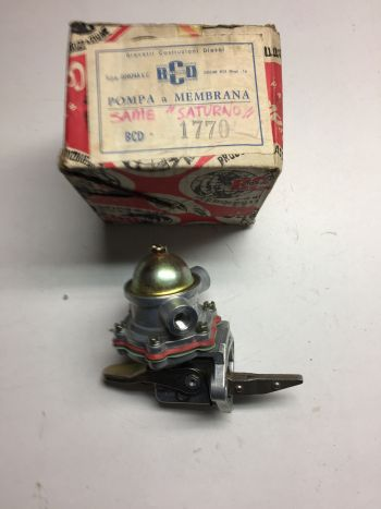 Same Deutz Saturno S+L+H Pompa Carburante a Membrana BCD 1770