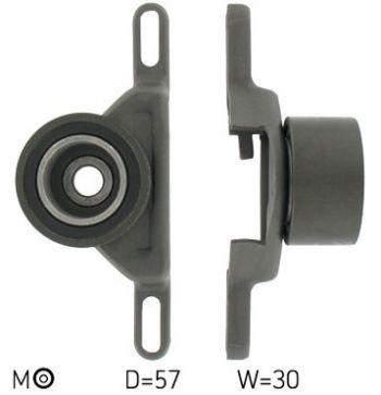 SKF VKM 14201 Rullo Tenditore Cinghia Dentata Distribuzione (D 57 mm - L 30 mm)