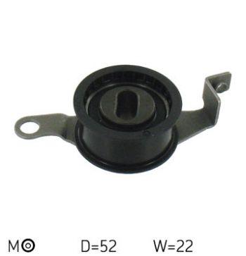 SKF VKM 14100 Rullo Tenditore Cinghia Dentata Distribuzione (D 52 mm - L 22 mm)