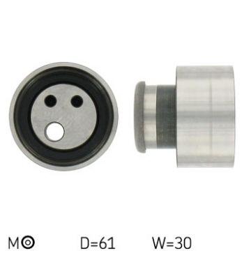 SKF VKM 12153 Rullo Tenditore Cinghia Dentata Distribuzione (D 61 mm - L 30 mm)