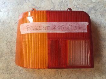 Peugeot 205 Prima Serie - Plastica Fanale Posteriore Sinistro AXO